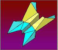 Neptune Paper Airplane Plane Folding Instructions
