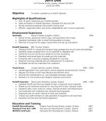 Operations Supervisor Resume Sample With Warehouse Manager