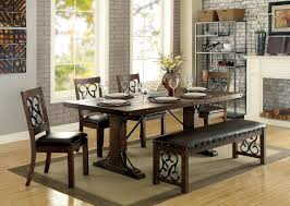 Furniture Of America CM3465T Wood Metal Table Set Kings Brand Fniture 3 Piece Bronze Metal Square Ding Kitchen Dinette Set Table 2 Chairs Elixir 80in Rectangular With Base By Hooker At Dunk Bright Costway 5 4 Wood Breakfast Chic Gray Room With Rustic And Vintage Louis Pair Of Silver Velvet Mirrored Legs Vida Living Tempo Glass C1860p Industrial Round Lifestyle Sam Levitz Fixer Upper A Contemporary Update For A Family Sized House Hot Item Cheap Leg Chair Vecelo Sets Pcs Embossed White Montello 3piece Old Steel