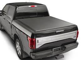 100 F 150 Truck Bed Cover WeatherTech 8RC1376 Roll Up Ord Black 6