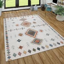 teppich für wohnzimmer ethno muster 3 d effekt in versch