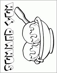 Printable Ice Cream Coloring Pages For Kids