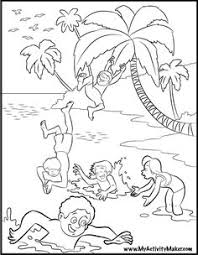 Coloring Pages Summer Season Pictures For Kids Drawing Free Of