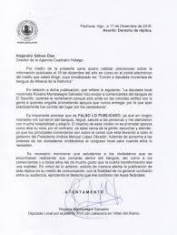 Derecho De Réplica Quadratin Hidalgo