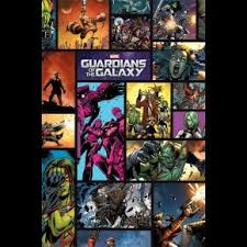 Guardians Of The Galaxy Marvel Poster
