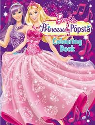 Barbie The Princess Popstar Colouring Book