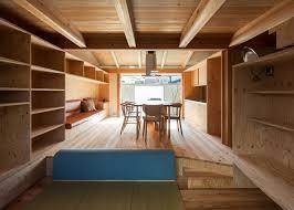 100 Japanese Tiny House Small House By Hitotomori Has Custommade Plywood Interior