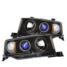 spyder auto scion xb 03 07 projector headlights led halo
