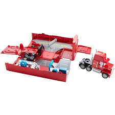 100 Cars Mack Truck Playset Buy Disney Transporter Only 1899 At BargainMax