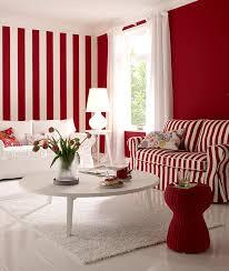 rote wand mit rottönen wohnen schöner wohnen