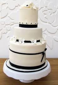 Wedding CakesBlack And White Cake Decorations Beautiful Elegant Black