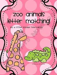 Zoo Animal Letter Naming