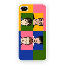 Blur Popart Mobile Phone Case for iPhone 4 4S iPhone 5 5S 5C