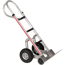 100 Magliner Hand Trucks CurvedBack Truck With TripleRow Multidirectional Wheels