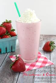 Love Starbucks Strawberries And Cream Frappuccino But Dont Like All The Sugar Fat