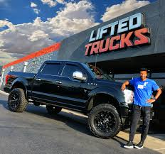 NBA Great Leandro Barbosa Loving His New Ride! Lifted Trucks Built ...