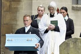 Funeral of baby Reggie Young who d after being ed by dog