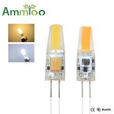 aliexpress buy 6pcs lot g4 cob led bulb ac dc 12v 6w led g4