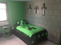 Minecraft Bedding Twin by My Sons Awesome Minecraft Bedroom U2026 Pinteres U2026