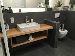 waschtisch platte holz eiche massiv baumkante fensterbank bad wc