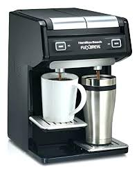 Hamilton Beach 49970 Dual Single Serve Coffee Maker Black Personal Cup Brewer
