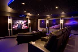 Media Room Paint Colors Home Theater Contemporary With None