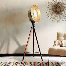 Surveyor Style Floor Lamps 25 absolutely not boring tripod floor lamp designs
