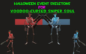 Tf2 Halloween Maps 2014 by Halloween Event Skeletons For Voodoo Cursed Sniper Team Fortress