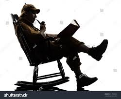 Sherlock Holmes Reading Silhouette Sitting Rocking Stock ... Happy Calm African Girl Resting Dreaming Sit In Comfortable Rocking Senior Man Sitting Chair Homely Wooden Cartoon Fniture John F Kennedy Sitting In Rocking Chair Salt And Pepper Woman Sitting Rocking Chair Reading Book Stock Photo Grandmother Her Grandchildren Pensive Lady Image Free Trial Bigstock Photos Hattie Fels Owen A Wicker Emmet Pregnant Young Using Mobile Library Of Rocker Free Stock Png Files