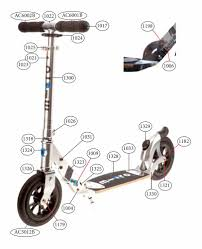 Micro Flex Air Scooter Spare Parts