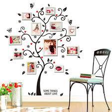 stickers pour chambre d enfant amour cadre photo arbre motif vinyle decal stickers pour