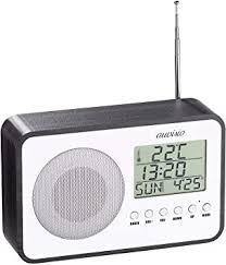 auvisio radiowecker batterie design ukw radiowecker digitale frequenzwahl netzteil usb ladeport radio mit batterie und netzteil