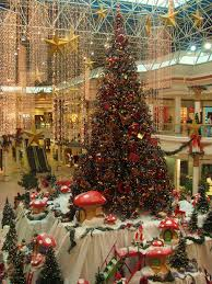 Tumbleweed Christmas Trees by Dubai Christmas Tree At Wafi Mall Shopping Centre Center An Up