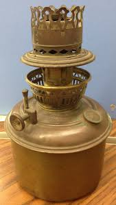 Aladdin Mantle Lamp Model 12 by San Diego Mantle Lamp