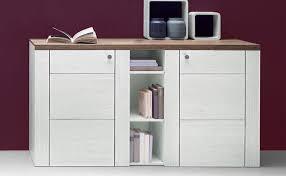 möbel sideboard wohnzimmer kommode 155cm sibiu weiß eiche
