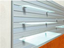 Wall Mounted Display Rack Glass For Shops