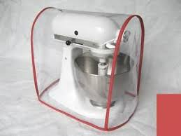 CLEAR MIXER COVER fits KitchenAid Artisan Tilt Head RED trim