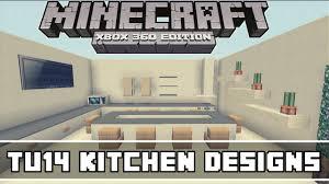 Minecraft Xbox 360 Living Room Designs by Minecraft Xbox 360 Tu14 Kitchen Designs Youtube
