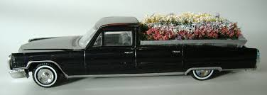 Cadillac Funeral Flower Car