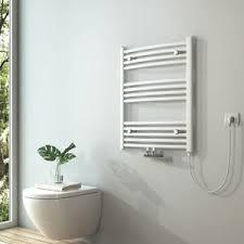 details zu elektrischer badheizkörper 75x60cm handtuchhalter handtuchwärmer strom 300 watt