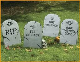 Halloween Tombstone Names Funny by Halloween Tombstones To Set Up Your Own Halloween Graveyard Best
