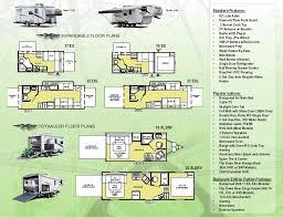Wildwood Fifth Wheel Floor Plans Colors Wildwood X Lite Travel Trailer Fifth Wheel Toy Hauler