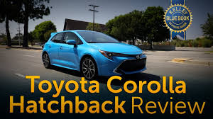2019 Corolla Hatchback - Review & Road Test - YouTube