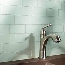 aspect peel and stick backsplash kit morning dew glass tile for