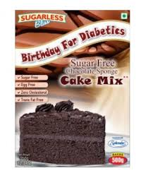 Sugar Free Chocolate Sponge Cake Mix 350gm Sugar Free Cup Cakes
