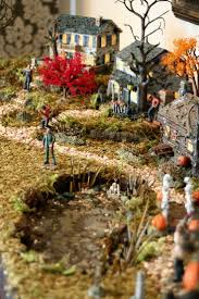 Dept 56 Halloween Village List by 87 Best Halloween Villages Images On Pinterest Halloween Village