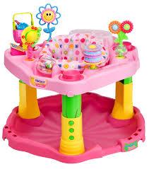 Evenflo High Chair Table Combo by Evenflo Exersaucer Baby Activity Center 123 Tea For Me Walmart Com