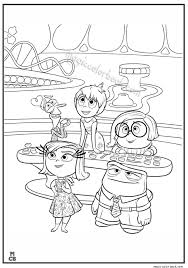 Inside Out Coloring Pages Free Printable 380