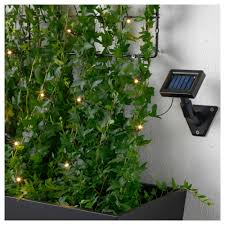 solarvet led lighting chain with 12 lights outdoor solar powered
