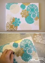 Creative Fun For All Ages With Easy DIY Wall Art Projects Homesthetocs Net Picture Gallery Website